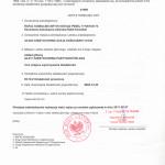Zaświadczenie o zmianie wpisu adwokata z Częstochowy